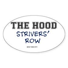 THE HOOD - STRIVERS ROW - NEW YORK  Decal