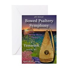 4th Annual Bowed Psaltery Symphony J Greeting Card