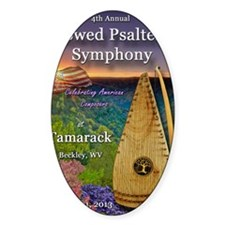 4th Annual Bowed Psaltery Symphony  Decal
