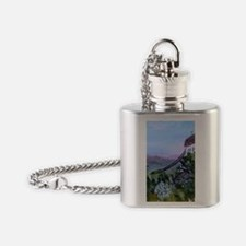 Jay Peak Lookout Flask Necklace