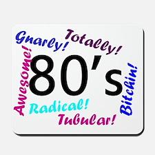 80s theme Mousepad