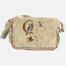 Owl Fantasy Messenger Bag