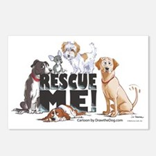 RescueMe Postcards (Package of 8)