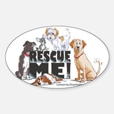 RescueMe Sticker (Oval)