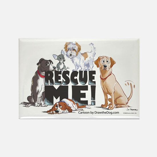 RescueMe Rectangle Magnet