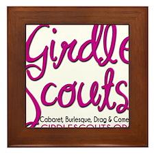 Girdle Scouts Framed Tile