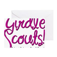 Girdle Scouts Greeting Card