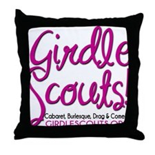 Girdle Scouts Throw Pillow
