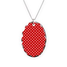 Red Polka Dots Necklace
