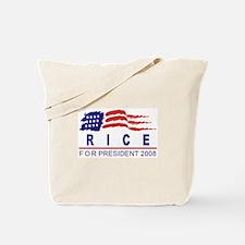 Condoleeza Rice 2008 (wave) Tote Bag