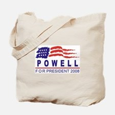 Colin Powell 2008 (wave) Tote Bag