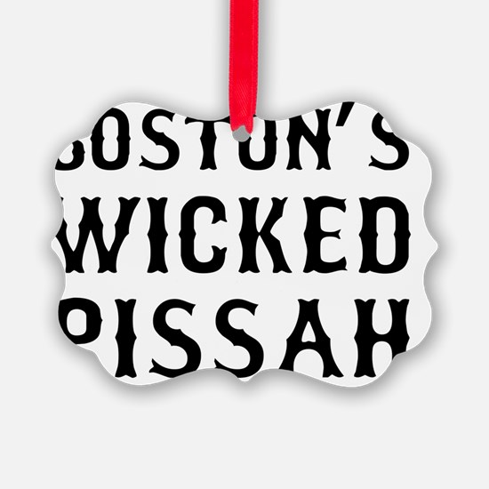 Boston Wicked Pissah Ornament