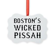Boston Wicked Pissah Picture Ornament
