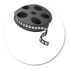 Keep Movie Reel Round Car Magnet