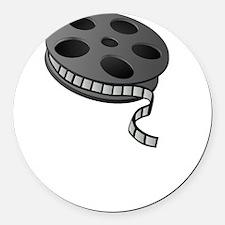 Keep Movie Reel Round Car Magnet