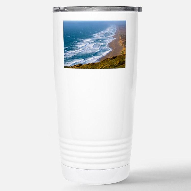 Point Reyes Surf Stainless Steel Travel Mug