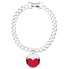 Heart headphones Charm Bracelet, One Charm