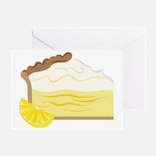 Lemon Pie Greeting Card