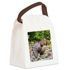 3x3  glass 10 Canvas Lunch Bag