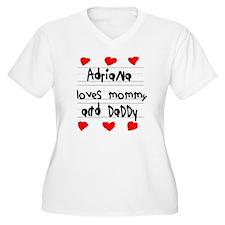 Adriana Loves Mom T-Shirt