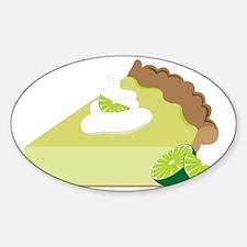 Key Lime Pie Sticker (Oval)