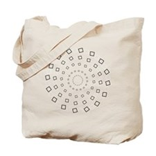 swirling circles Tote Bag