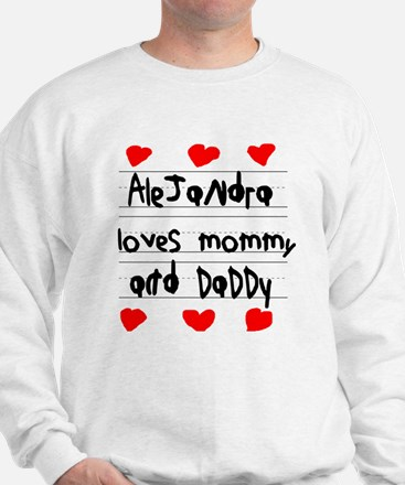 Alejandra Loves Mommy and Daddy Jumper