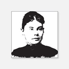 "Lizzie Borden Square Sticker 3"" x 3"""