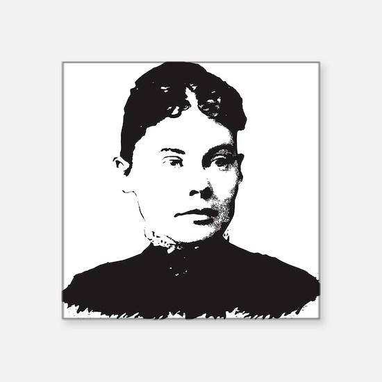 """Lizzie Borden Square Sticker 3"""" x 3"""""""