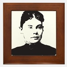 Lizzie Borden Framed Tile