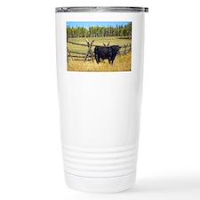 Lone Cow Travel Mug