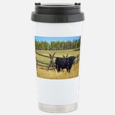 Lone Cow Travel Mug