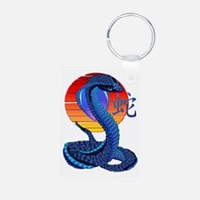 Year Of The Snake and Sun Keychains