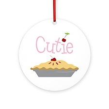 Cutie Round Ornament