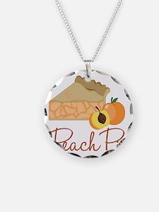 Peach Pie Necklace