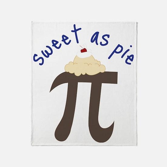 Sweet As Pie Throw Blanket