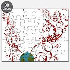 bechange_earth_red_dark Puzzle