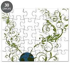 bethechange_earth_dark Puzzle