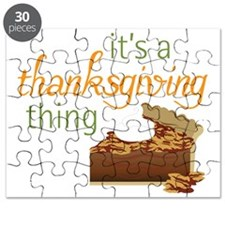 A Thanksgiving Thing Puzzle