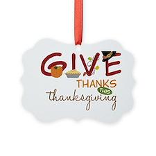 Thanksgiving Ornament