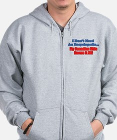 My Canadian Wife Knows It All Zip Hoodie