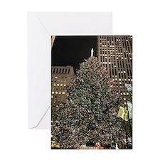 Christmas Tree - Rockefeller Center Greeting Card