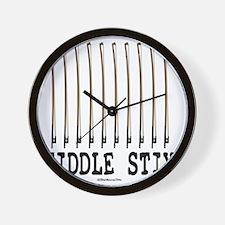 Fiddle Stix Wall Clock