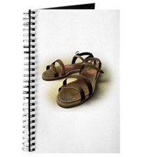 Sandals on sand Journal