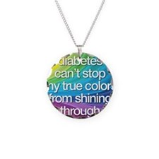Insulin Inspirations 2 Necklace Circle Charm
