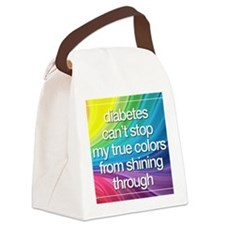 Insulin Inspirations 2 Canvas Lunch Bag