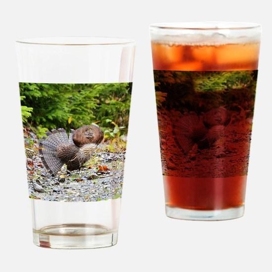 tile 9 Drinking Glass