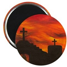 Faith in the Sunset Magnet