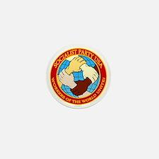 Socialist Party USA Logo Mini Button