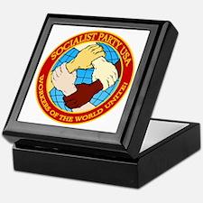 Socialist Party USA Logo Keepsake Box